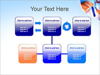 Adjoint avec le tube à essai Modèles des présentations  PowerPoint - Diapositives 23