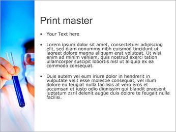 Adjoint avec le tube à essai Modèles des présentations  PowerPoint - Diapositives 24