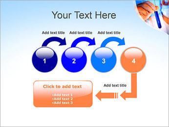 Adjoint avec le tube à essai Modèles des présentations  PowerPoint - Diapositives 4