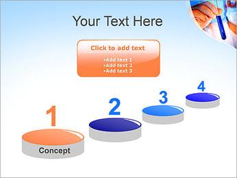 Adjoint avec le tube à essai Modèles des présentations  PowerPoint - Diapositives 7