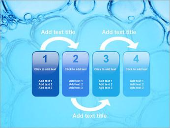 Bulles de l'eau Modèles des présentations  PowerPoint - Diapositives 11