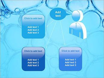 Bulles de l'eau Modèles des présentations  PowerPoint - Diapositives 12