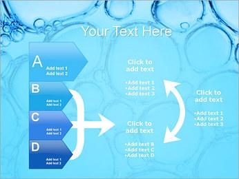 Bulles de l'eau Modèles des présentations  PowerPoint - Diapositives 16