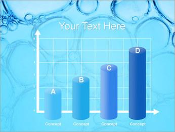 Bulles de l'eau Modèles des présentations  PowerPoint - Diapositives 21