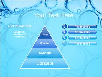 Bulles de l'eau Modèles des présentations  PowerPoint - Diapositives 22