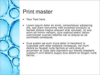 Bulles de l'eau Modèles des présentations  PowerPoint - Diapositives 24