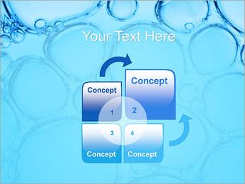 Bulles de l'eau Modèles des présentations  PowerPoint - Diapositives 5