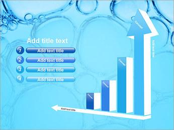 Bulles de l'eau Modèles des présentations  PowerPoint - Diapositives 6