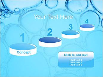 Bulles de l'eau Modèles des présentations  PowerPoint - Diapositives 7