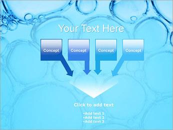 Bulles de l'eau Modèles des présentations  PowerPoint - Diapositives 8