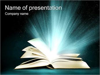 Magic Book Modelos de apresentações PowerPoint