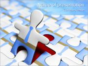 Puzzle Man PowerPoint Templates