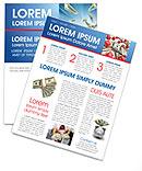 American Dollars Newsletter Template