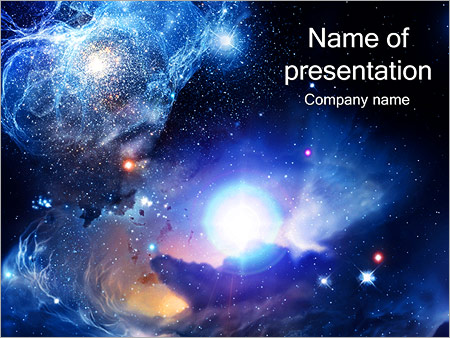 universe powerpoint template backgrounds google slides id
