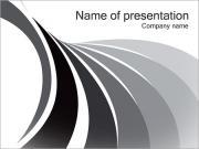 Líneas grises Plantillas de Presentaciones PowerPoint