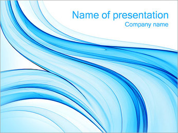 Blue Style Design PowerPoint Template