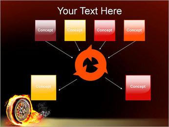 Roue de Feu Modèles des présentations  PowerPoint - Diapositives 10