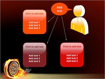 Roue de Feu Modèles des présentations  PowerPoint - Diapositives 12