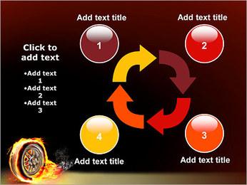 Roue de Feu Modèles des présentations  PowerPoint - Diapositives 14