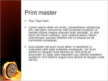 Roue de Feu Modèles des présentations  PowerPoint - Diapositives 24