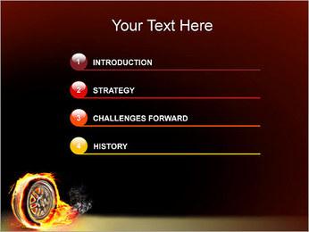 Roue de Feu Modèles des présentations  PowerPoint - Diapositives 3