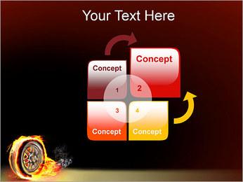 Roue de Feu Modèles des présentations  PowerPoint - Diapositives 5
