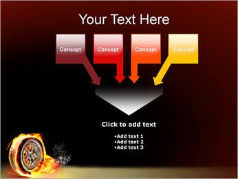 Roue de Feu Modèles des présentations  PowerPoint - Diapositives 8