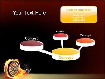Roue de Feu Modèles des présentations  PowerPoint - Diapositives 9