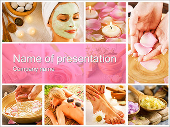 Healthcare and Beauty PowerPoint Template