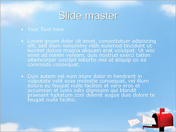 Mailbox PowerPoint Template - Slide 2