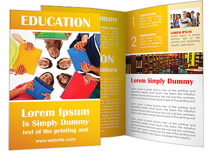 University Students Brochure Template & Design Id 0000002430