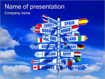 Paesi e modi I pattern delle presentazioni del PowerPoint