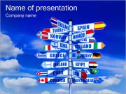 Countries and Ways PowerPoint Templates