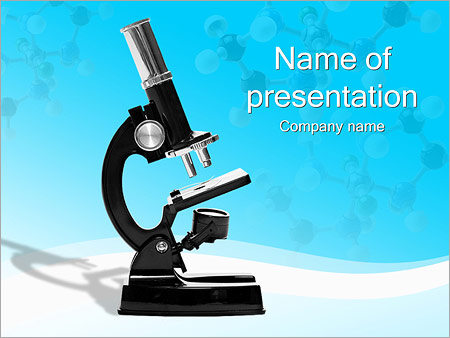 microbiology - powerpoint template - smiletemplates, Modern powerpoint