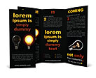 Two Light Bulbs Brochure Templates