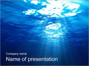 Subacqueo I pattern delle presentazioni del PowerPoint