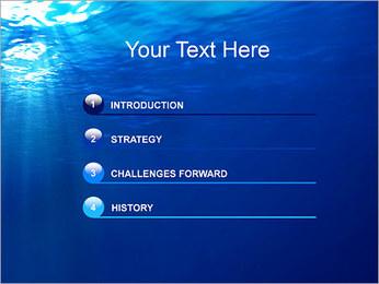 Sous-marin Modèles des présentations  PowerPoint - Diapositives 3