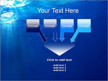Sous-marin Modèles des présentations  PowerPoint - Diapositives 8