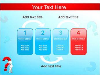 Homem e do ponto de interrogação Modelos de apresentações PowerPoint - Slide 11