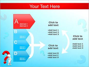 Homem e do ponto de interrogação Modelos de apresentações PowerPoint - Slide 16