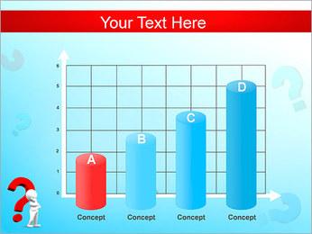 Homem e do ponto de interrogação Modelos de apresentações PowerPoint - Slide 21