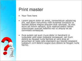 Homem e do ponto de interrogação Modelos de apresentações PowerPoint - Slide 24