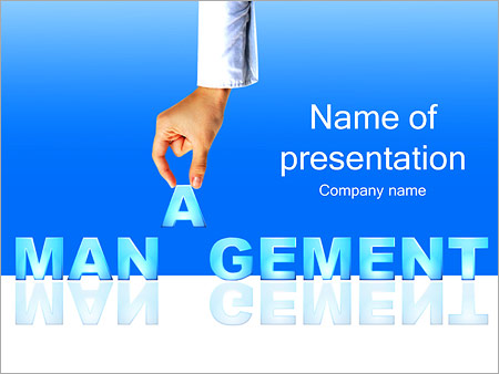 Management Powerpoint Template Backgrounds Google Slides Id