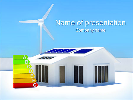 House energy chart powerpoint template backgrounds id 0000002456 house energy chart powerpoint templates toneelgroepblik Gallery