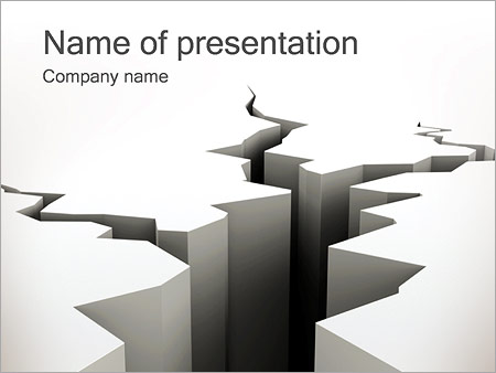 Crack powerpoint template backgrounds id 0000002459 crack powerpoint template toneelgroepblik Images