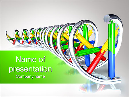 Biochemistry powerpoint template smiletemplates dna spiral powerpoint templates toneelgroepblik Choice Image