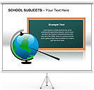 School Board PPT Diagrams & Chart
