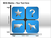 BCG Matrix PPT Diagrams & Charts