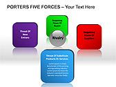 Porters Five Forces PPT Diagrams & Chart - Slide 10