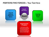 Porters Five Forces PPT Diagrams & Chart - Slide 11